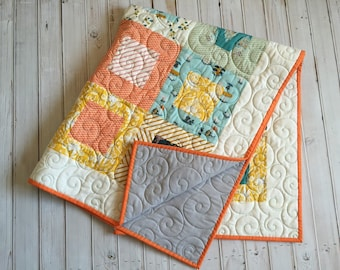 Made To Order custom quilt...Crib quilt...Style #8