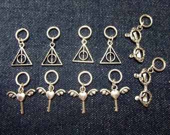 Harry Potter stitch markers/progress keepers