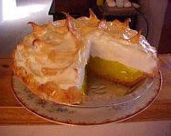 Lemon Meringue Pie with Slice Out