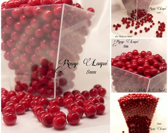 Pearl red lacquered glass 4mm, 6mm, 8mm and 10mm