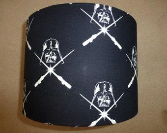 Star Wars Black/White Darth Vader/Light Saber Glow In The