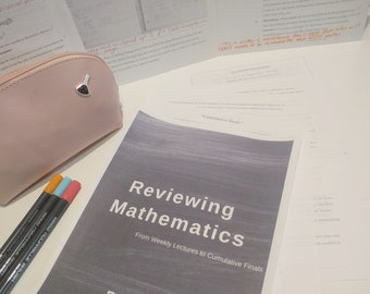 Reviewing Mathematics - A Study Guide