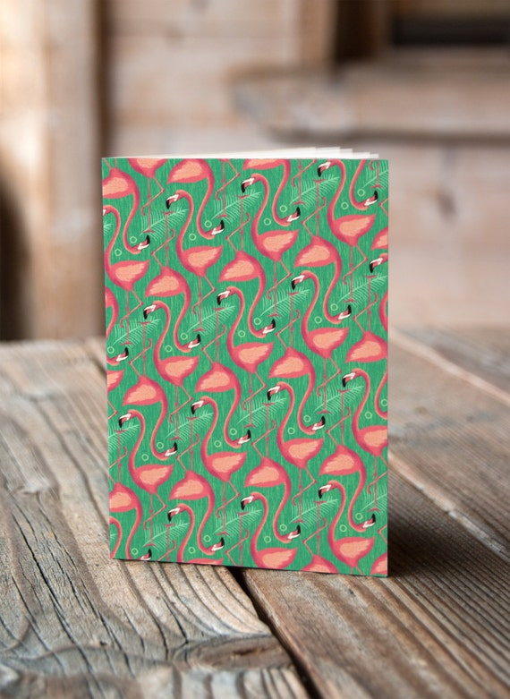 A5 Flamingoes - Notebook / Sketchbook / Journal