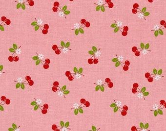 Sew Cherry 2 Cotton Fabric - Lori Holt Bee In My Bonnet - Riley Blake Fabrics