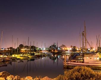Woodley Island Marina, Landscape Photography, Metal Print, Large Prints, Humboldt County CA, Sunrises, Rivers, DJerniganPhoto