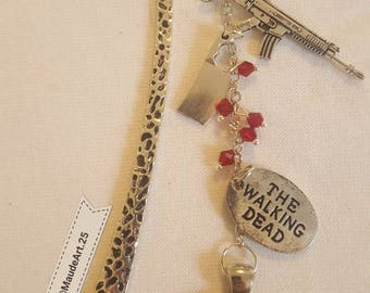 Unique Walking dead Terminus inspired bookmark