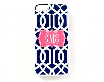 monogram iPhone 5c case • personalized • [DYO]