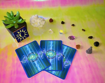 3 Card In-depth Oracle Readings form Dizzt & LoRad---- Email PDF
