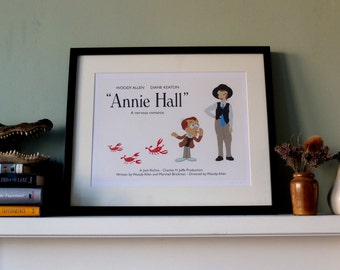 Annie Hall, Woody Allen -  Fine Art Film Print