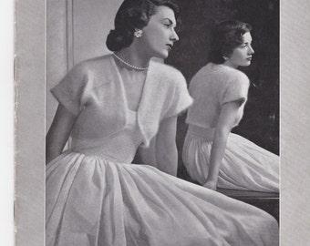 Vintage 1940s - Paton's Knitting Pattern No 341 For Women/Ladies - Original Pattern
