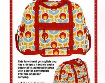 Carry On! Travel Bag Pattern by Annie PBA 215