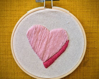 Simple Sweetheart Handmade Embroidery