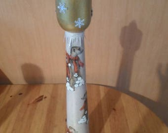 50 cm animal themed candle holder