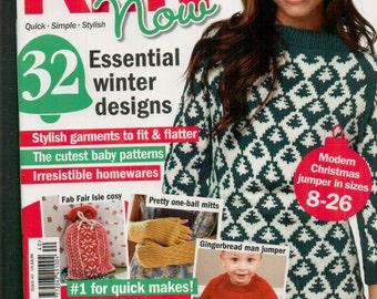 Knit Now Knitting Magazine Issue 40 November 2014