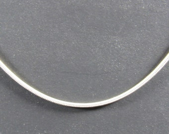"""Sale; Snake chain 20"""", 24""""; snake chain necklace; 925 Silver plated chain; Snake chain/SCL20;SCL24"""
