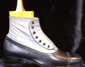 Exceptional man button boots style 1900-1920