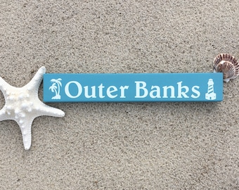 Outer Banks Plank Sign