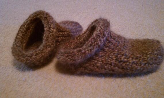 Clog Slippers A Loom Knit Pattern