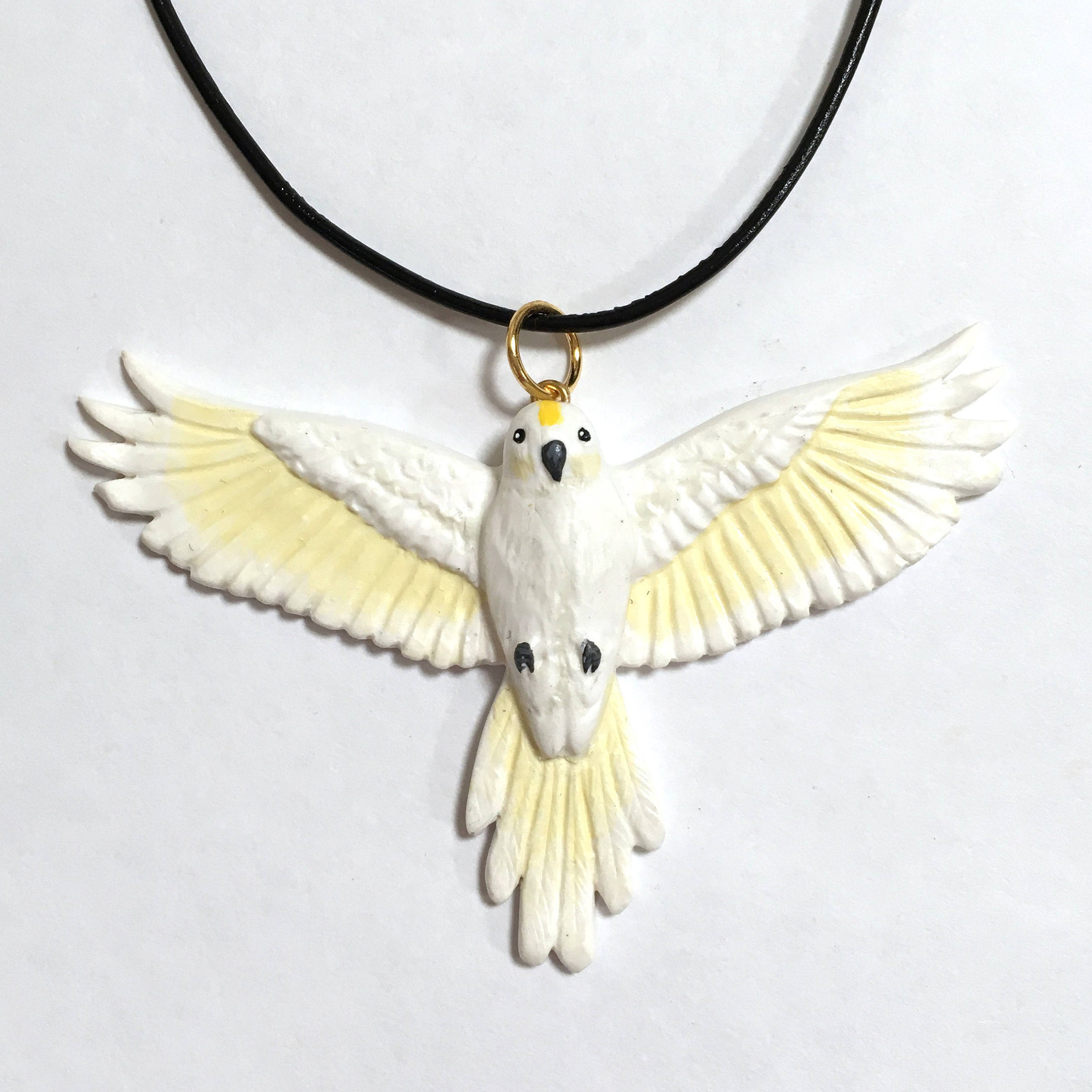 jewellery large bird product prey silver pendant