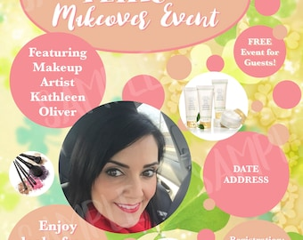 Mary Kay Spring Fling Event Flyer