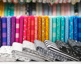 Panache - Fat Quarter Bundle by Rebecca Bryan - 30 pieces