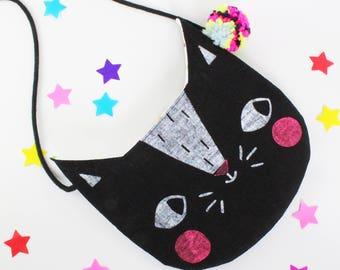 Cat Handbag / Purse kids bag