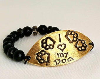 Bracelet I love my dog