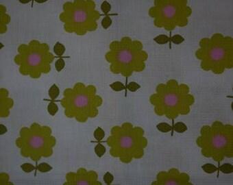 Fabric - Retro - Spring Feeling - Sweden - Scandinavian -  Craft