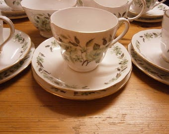 Colclough Trio - Tea Cup, Saucer and Side Plate - Vintage
