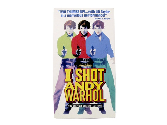 I Shot Andy Warhol VHS