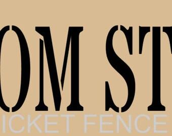 Create Your Own Custom Stencil