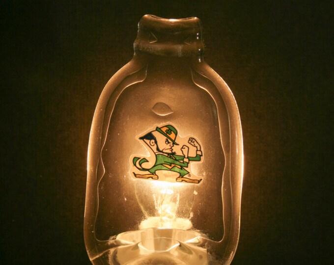 Notre Dame Melted MINI Bottle Night Light