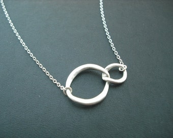 Sterling Silver Chain - double curb link necklace