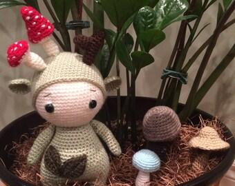 Handmade Forest Gnome
