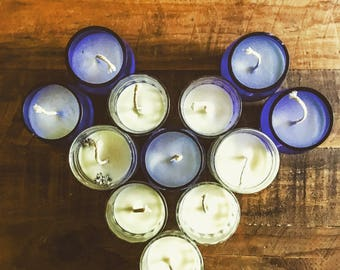 Homemade Caramel Soy Candles
