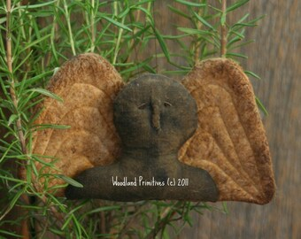 Granary Tombstone Angel Ornament Pattern