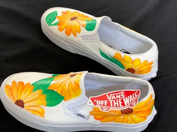 Die Schuhe Der Vans Authentische Sonnenblume-frauen kl4m9k