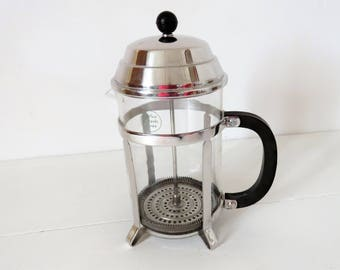 Vintage French, MELIOR, Chambord, Twelve Cup, French Press, Cafatiere