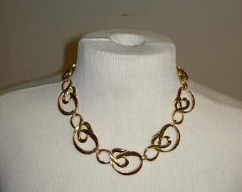 Vintage Goldtone Necklace by Avon