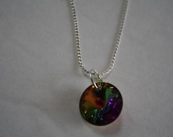 Vitrail Crystal Necklace, Crystal Necklace, Vitrail Necklace