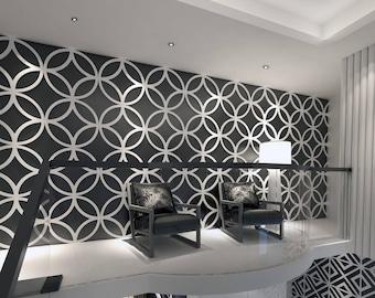 Attractive Stars   3D Wall Panels   Wall Panels   Geometric Art   Wall Paneling    Paneling   Decorative Wall Panels   3D Tiles   SKU:PPCE3DP