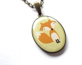 Necklace Fox