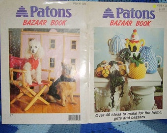 Patons Bazaar Book Over 40 ideas to make for the home, gifts and bazaars