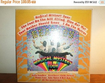 Save 30% Today Vintage 1967 LP Record The Beatles Magical Mystery Tour Stereo Excellent Condition 12309