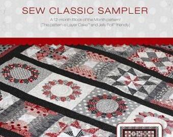 Sew Classic Sampler PAPER pattern 0713