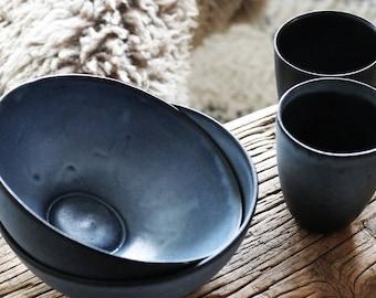 Breakfast Bowl - Blue
