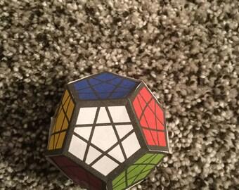 Megaminx Papercraft Rubik's Cube
