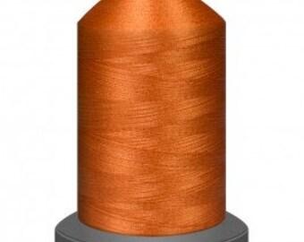 Marmalade thread, quilting thread, sewing machine thread, glide thread, sewing thread, 1000m cone, Orange thread, polyester thread