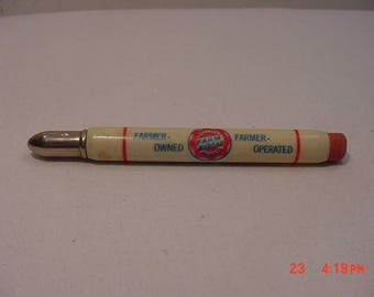 Vintage Farm Bureau Cooperative Association Bullet Pencil  17 - 1014