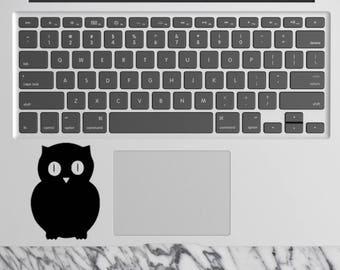 Owl - Laptop Sticker Laptop Decal MacBook Decal MacBook Sticker Vinyl Sticker Computer Sticker Car Decals Wall Decals